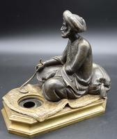 Well Modelled Late 19th Century Bronze of a Snake Charmer (2 of 5)