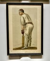"""Collection of 4 Vanity Fair Cricketing  Themed """"Spy""""Prints (6 of 11)"""
