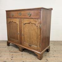 Antique Oak Cupboard on Bracket Feet (7 of 12)