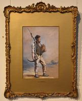 """Oil Painting Pair by H.T Dennis """"Somerset Labourers"""" (5 of 8)"""