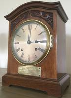 Edwardian High Quality Eight Day Striking Bracket Clock (3 of 11)