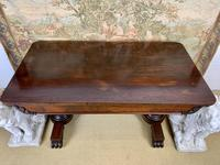 Large 19th Century Rosewood Library Table (6 of 6)