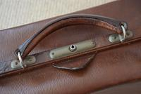 Edwardian Leather Travel Case by H.Greaves New Street Birmingham (5 of 10)