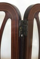 Edwardian Inlaid Mahogany Screen (3 of 13)