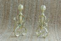 Quality Pair of Victorian Brass Fire Dogs Fire Irons Rest Andirons c.1890 (2 of 7)