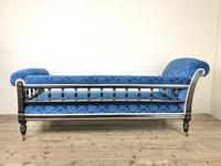 19th Century Empire Style Chaise Lounge (10 of 10)