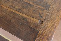 Early Oak Refectory Table (7 of 7)