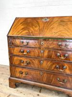 Antique Georgian Mahogany Bureau (5 of 10)