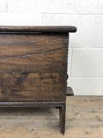 Small 18th Century Joined Oak Coffer (4 of 18)
