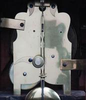 English Late Regency Mahogany Timepiece Mantel Clock (9 of 9)