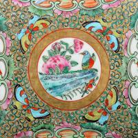 Chinese Canton Famille Rose Dish (6 of 7)