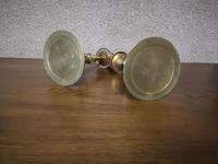 Pair of Brass Arts and Crafts Candlesticks (3 of 12)