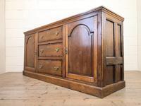 Antique Panelled Oak Dresser Base (8 of 10)