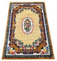Vintage Chinese Silk Carpet 2.43m x 1.59m (2 of 11)