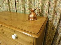 Antique Stripped Pine Chest of Drawers (7 of 9)