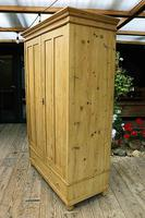 Fabulous & Large Old Pine 'Knock Down'  Double Wardrobe (4 of 15)