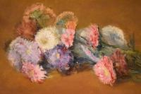 French still life oil painting of flowers (7 of 7)