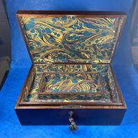 Victorian  Fitted Jewellery Box With Inlay (14 of 15)