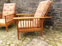 Pair of Arts & Crafts Reclining Chairs (6 of 12)