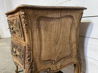 Stylish French Bleached Oak Commode Chest (16 of 20)