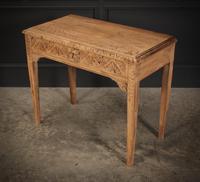 Raw Oak Sandblasted Side Table (5 of 11)