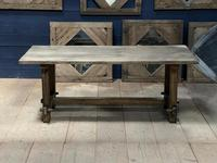 Rustic French Washed Oak Farmhouse Dining (8 of 21)