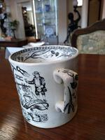 'God Speed The Plough' Victorian Two Handled Love Cup (4 of 6)