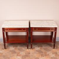 Pair of French Marble Topped Tables (4 of 14)