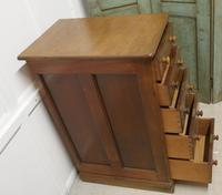 Victorian Mahogany 5 Drawer Pharmacy Chest of Drawers (4 of 7)