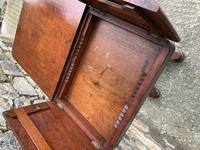 Victorian Mahogany Adjustable Duet Reading Stand (4 of 20)