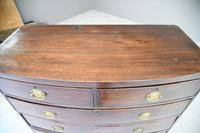 19th Century Mahogany Chest of Drawers (5 of 11)