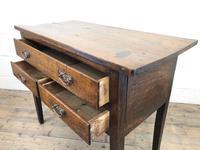 Early 19th Century Oak Lowboy Side Table (3 of 13)