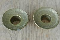 Fine Pair of 18th Century French Brass Candlesticks Seamed (11 of 11)