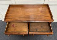 Mahogany  2 Drawer Writing Table (6 of 12)