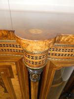 19thc Burr Walnut Credenza Cabinet (8 of 10)
