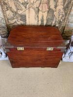 19th C Brass Bound Campaign Style Chest (3 of 8)