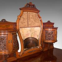 Fine Antique Dressing Table, English, Walnut - Gillow & Co, Victorian (7 of 12)