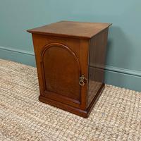 Small Victorian Mahogany Collectors Cabinet (2 of 6)