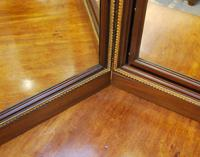 Large French triptych dressing table mirror (6 of 7)