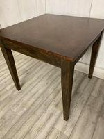 Arts and Crafts Copper Top Dining Table (3 of 4)
