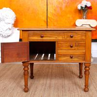 Walnut Chest of Drawers Victorian Side Cabinet 19th Century (11 of 11)