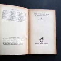 1938 The Invisible Man by H G Wells Green Penguin Number 151 (2 of 5)