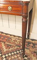 19th Century Regency Mahogany Side Table c.1820 (4 of 12)