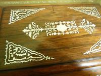 Large Inlaid Rosewood Jewellery / Table Box c.1835 (9 of 12)