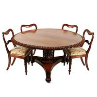 George IV Rosewood Centre Table (4 of 8)