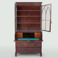 Mahogany Secretaire Bookcase (2 of 5)