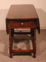 Gateleg Table in Oak -18th Century (2 of 11)