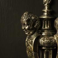 English Set of 4 Cherub Silver Wall Lights (4 of 9)