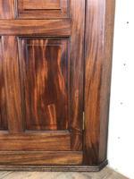 Antique 19th Century Mahogany Wall Hanging Corner Cupboard (M-1696) (4 of 11)
