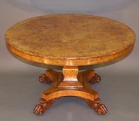 Regency Burr Elm Centre Table (3 of 6)